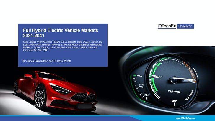 Hybrid Market To Peak In Seven Years Ev Talk
